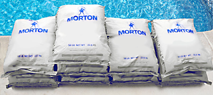 bags of salt to convert swimming pool to a saltwater chlorine generator