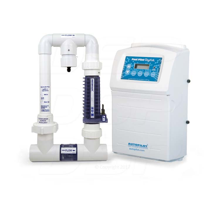 Autopilot Digital Ppc1 Rc 35 Saltwater Chlorinator For Up To 40 000 Gallon Salt Water Pools