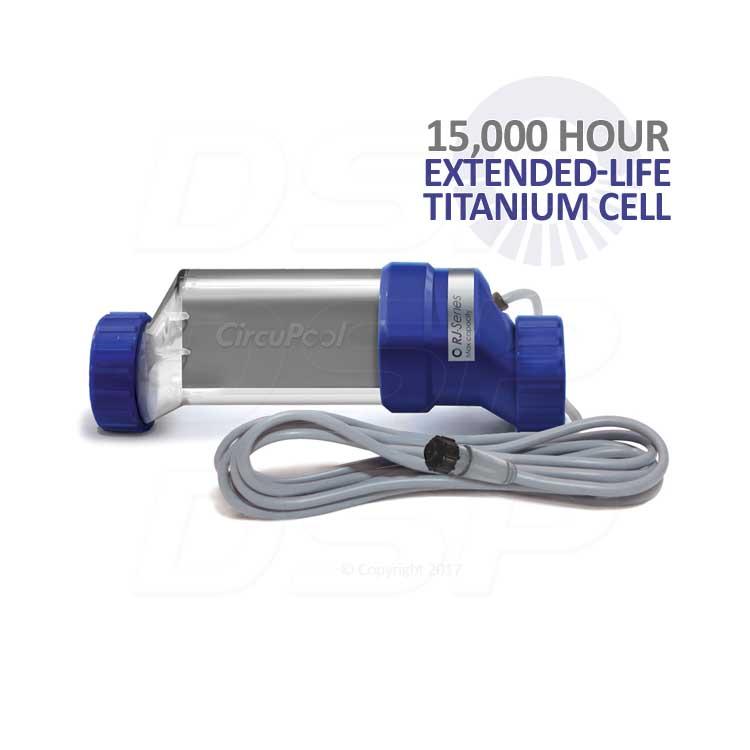 Circupool Rj 30 Plus Saltwater Chlorinator For Up To 30000
