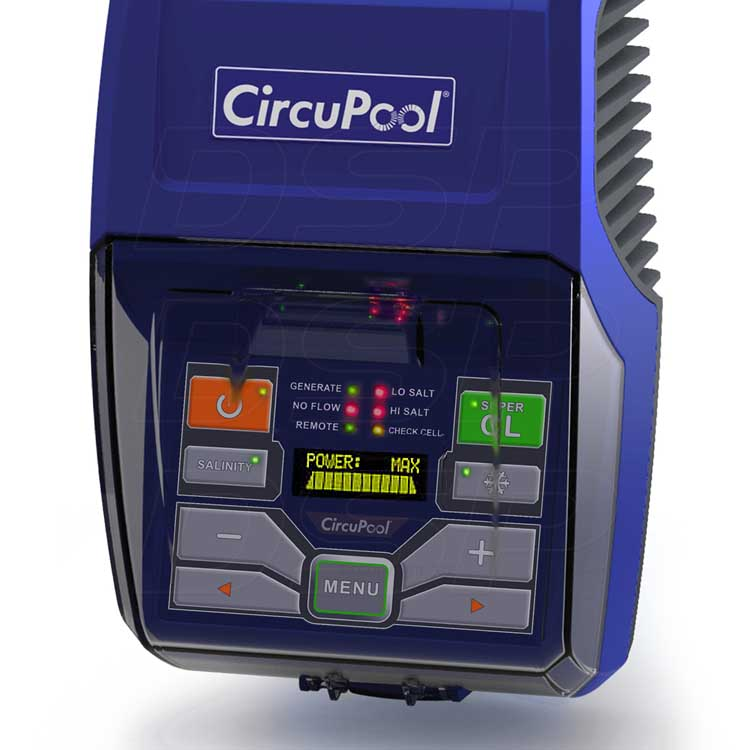 Circupool Rj 30 Plus Saltwater Chlorinator For Up To 30000