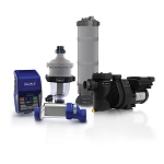 Ultimate Combo (Large Pools) - (RJ-45 Salt System. VJ-3 Pump, CJ-150 Filter, and TJ-16 Pre-Filter)