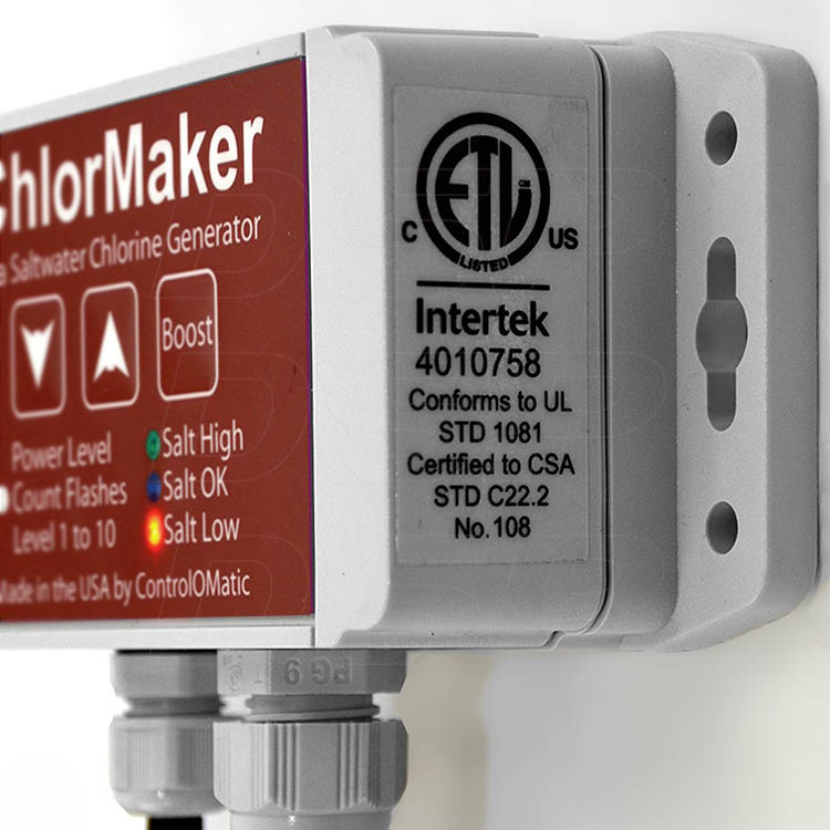 Controlomatic 174 Chlormaker Drape Over Do Spa Saltwater