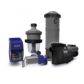 Ultimate Combo (Large Pools) - (RJ-45 PLUS Salt System, SmartFlo® 3.0 VS Pump, CJ-180 Filter, and TJ-16 Pre-Filter)