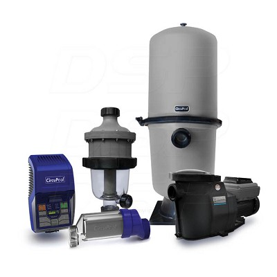Ultimate Combo (X-Large Pools) - (RJ-60 Salt System, SmartFlo® 3.0 VS Pump, Triple300 Filter, and TJ-16 Pre-Filter)